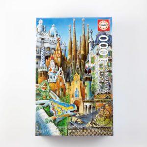 Puzzle Antonio Gaudí 1000 piezas